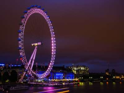 10 of Londons Most Iconic Attractions at Night