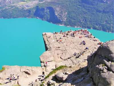 Preikestolen aka Preacher's Rock : Norway's Highest Cliff