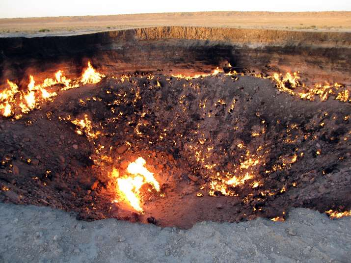 The Gates to Hell, Turkmenistan