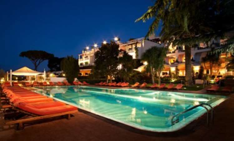Luxurious Capri Palace Hotel & Spa Offers Enticing Hideaway in the Bay of Naples